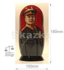 100 Matryoshka Kitchen Stalin Lenin Brezhnev Marx Engels Handmade