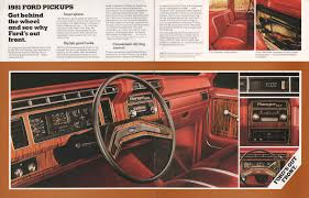 100 1981 Ford Truck Pickup Sales Brochure