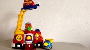 100 Fire Trucks On Youtube Vtech Big Fire Engine Toot Toot Vehicles YouTube