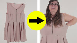 what plus size clothing looks like on plus size women youtube