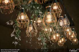 edison filament bulbs wedding and event lighting by oakwood events