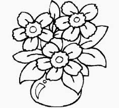 Free Coloring Pages Flowers Book On Art