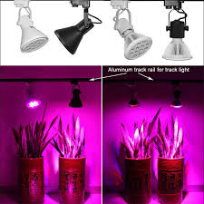 e27 12w 24w led plant grow light bulb ls blue 9 3 for