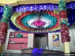 Color Paper Decorations In Design By Ravi Salian