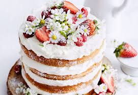 Hochzeitstorte Mit Erdbeeren Und Limetten Holunderblütencreme Torte