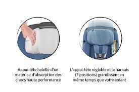 position siege auto siège auto axissfix plus pivotant 360 isofix jusqu à 4 ans maxi