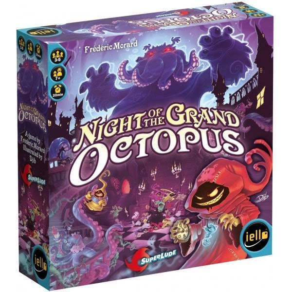 Iello Night Of The Grand Octopus Board Game