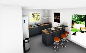 plan cuisine 3d exceptional plan cuisine amenagee 1 cr233er concevoir sa