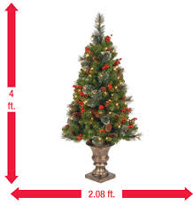 7ft Pre Lit Christmas Trees by Best 25 4ft Christmas Tree Ideas On Pinterest Luxury Christmas