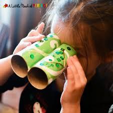 Leprechaun Binoculars Toilet Paper Roll Craft Easy St Patricks Day For Kids