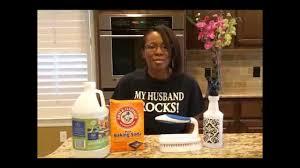 tile grout cleaning baking soda vinegar solution