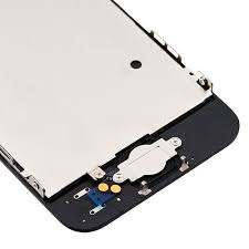 5 LCD Screen Full Assembly with Home Button Black