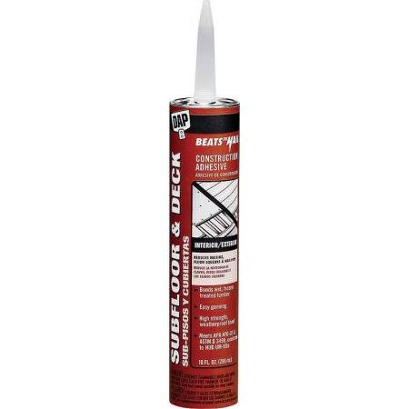 Dap 10.1oz Tan Beats The Nail Subfloor and Deck Construction Adhesive