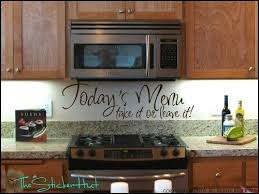 Todays Menu Take It Or Leave Kitchen Sayings By Thestickerhut 1799