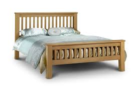 Amazon Super King Size Headboard by Julian Bowen Amsterdam Oak Double Bed Amazon Co Uk Kitchen U0026 Home