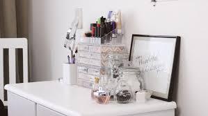 boîte rangement maquillage idées à réaliser soi même