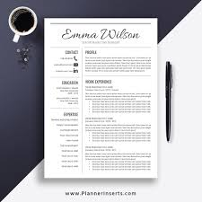 Professional & Simple Resume Template Word 2019, Cover Letter, College  Resume, Simple CV Template, Creative & Modern Resume, Instant Download:  Emma ... Cv Template For Word Simple Resume Format Amelie Williams Free Or Basic Templates Lucidpress By On Dribbble Mplates Land The Job With Our Free Resume Samples Sample For College 2019 Download Now Cvs Highschool Students With No Experience High 14 Easy To Customize Apply Job 70 Pdf Doc Psd Premium Standard And Pdf