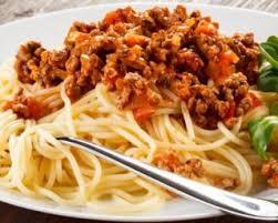 recette de spaghettis sauce tomate et viande hachée