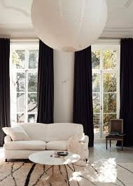 Living Room Curtain Ideas Pinterest by Best 25 Black Curtains Ideas On Pinterest Black Curtains