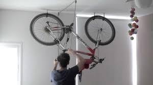 bike rack one minute storage youtube