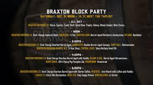 Rivertown Pumpkin Ale by Braxton Block Party Draft List Braxton Brewing Company