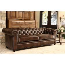 100 Designer Modern Sofa Leather Couch Brown Soft Antique Living Room