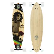 100 Sector 9 Trucks Small Axe Complete Skateboard Bob Marley Long Board Gullwing