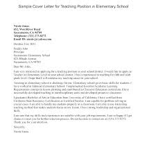 Sample Adjunct Professor Resume No Teaching Experience Example Cover Letter Teacher Examples With Fo