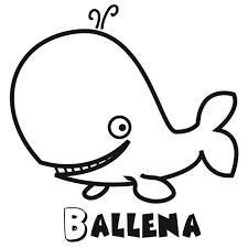 Colorear La Ballena