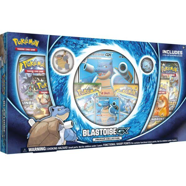 Pokemon: Blastoise GX Premium Collection