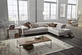 canapé d angle cuir design canapé angle cuir design 5 places dreamline assises réglables