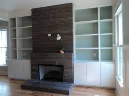 fireplace contemporary living room charleston by tile