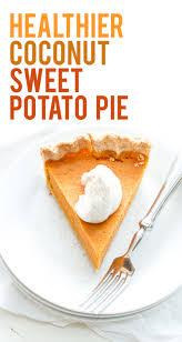 Healthy Light Pumpkin Dessert by Coconut Sweet Potato Pie Wholefully
