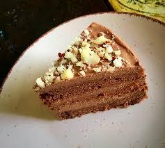schoko nougat torte