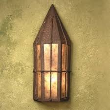 mica ls sb43 storybook tavern outdoor flush wall sconce