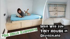 so funktioniert mein klappbett mein weg zum tiny house in deutschland 34