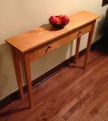 shaker sofa table u2014 dcw woodworks