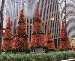 Lighting Of Rockefeller Christmas Tree 2014 by Smeared Type Christmas Lights