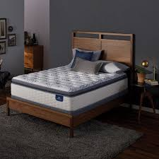 Serta Perfect Sleeper Air Mattress With Headboard by Serta 92681 Perfect Sleeper Teddington Plush Queen Mattress