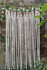 Macrame Wall Hanging Tapestry Room Divider Door Window Curtain