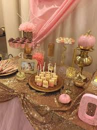 Pink White And Gold Birthday Decorations by Gold Themed Birthday Decorations Image Inspiration Of Cake And