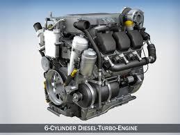 100 Diesel Truck Engines 3D Model Enginecar Diesel Engine CGTrader