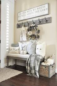 Note When Making Things Like My Entry Area Add I Can Change Out For The Seasons And Decorations Autumns In Air Fall Home Tour Grace