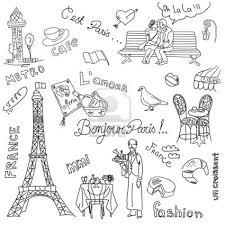 Griffonnages Paris La Cuisine Française A Imprimer Pinterest