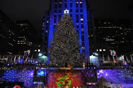 Rockefeller Center Christmas Tree Fun Facts by Lighting Of Christmas Tree In Rockefeller Center Christmas