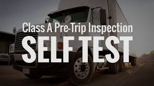 100 Cdl Test Truck CDL Class A Pre Trip Inspection SELF TEST BEST TRUCK TUTORIALS