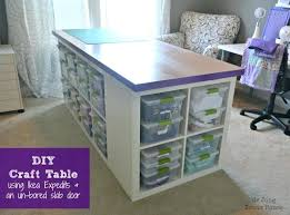 Craft Table Ideas To Inspire You On How Make Crafts