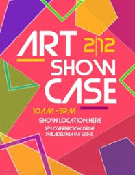 ART SHOW Art Showcase Flyer