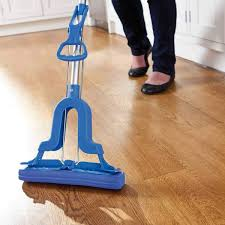 Hand Free Washing Doubleside Flat Mop Microfibre Cleaner Floor