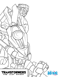 Transformers Bumblebee Coloring Page